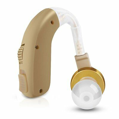 Rechargeable Digital Hearing Aid BTE Audiphone hearing Sound Amplifier for elder