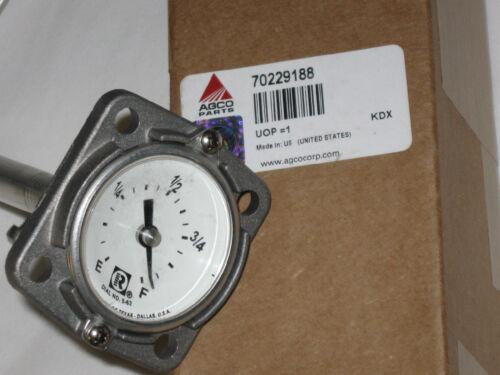 Allis Chalmers Tractor Fuel Gauge D17 70229188 NEW gas & diesel OEM