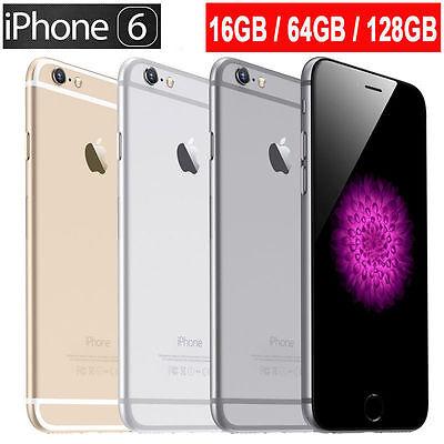Apple iPhone 6 /6 Plus 16GB 64GB 128GB ROM Verizon + GSM Unlocked LTE Smartphone