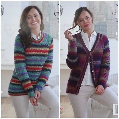 Free UK P/&P Sirdar Family Sweaters Country Style Knitting Pattern 5076 ...