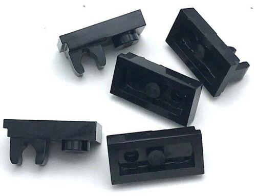 Lego 5 New Plates Modified 1 x 2 with Clip on Top Pieces