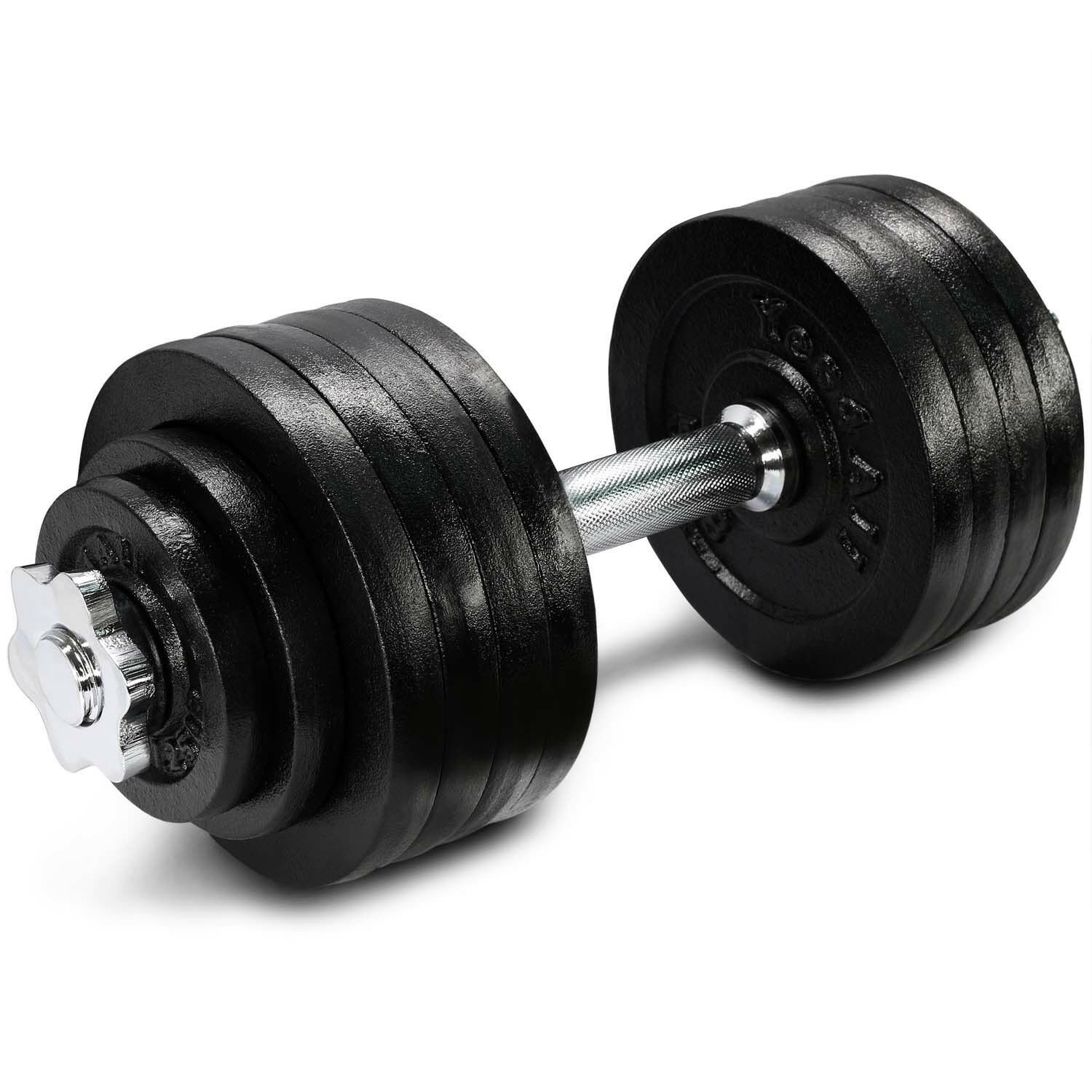 Yes4All 52.5 lb  Adjustable Weight Dumbbells for Gym Fitness (Single)²2  free shipping!