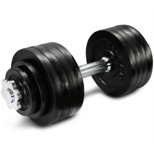 Yes4All 52.5 lb Adjustable Weight Dumbbells for Gym Fitness Single