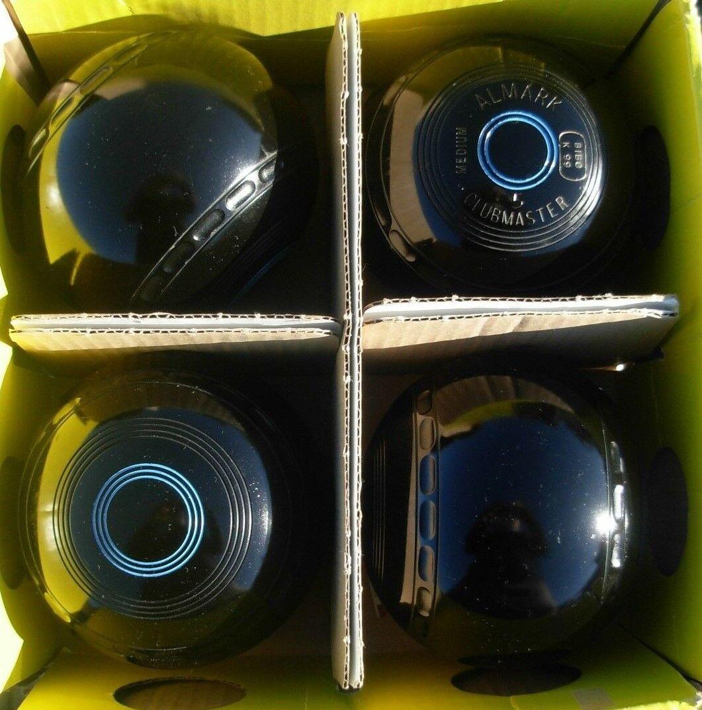 Almark Clubmaster Lawn Flat Green Short Mat Long Mat Indoor Outdoor Bowls Size 5