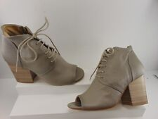 005f139b6ae3 item 3 MANAS Grey Soft Leather lace up peep toe and Side Zip Ankle Bootie  Euro 36 M -MANAS Grey Soft Leather lace up peep toe and Side Zip Ankle  Bootie Euro ...