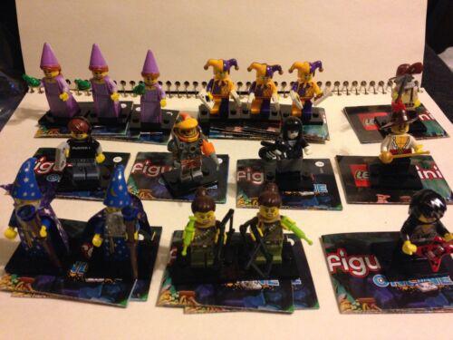 Lego Minifigures Series 12 Choice Wizard Princess Dino Tracker Miner Jester+More