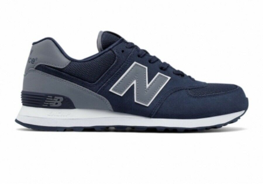 NEW SIZE BALANCE ML574CNE MEN'S ATHLETIC SHOES SIZE NEW 9.5 Blue Reflective NEW! 50c283