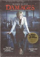Damages Season 1 - Dvd Tv Shows First Brand
