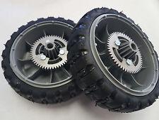 """2 8/""""  Lawnboy Lawn Boy Lawnmower Lawn Mower PUSH Wheels Tires 107-3896"""