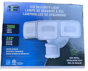Home Zone Security Led Security Light Motion Activated Easy Install 4000k 3000lu 889526351427 Ebay