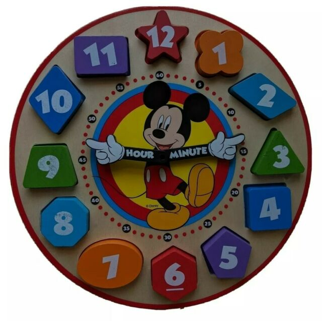 Melissa & Doug Shape Sorting Clock * Educational Wooden ...