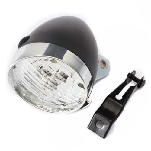 3 LED Retro Classic Vintage Style Bicycle Light Bike Front Lamp Headlight