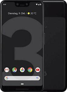 Google Pixel 3 XL 64 Go Just Black, NEUF, écran Burn-dans