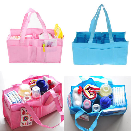 Practical Mother Handbag Baby Diaper Nappy Bag Milk Bottle Storage Organizer ZYß