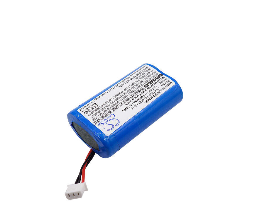 Ni-MH Battery for SHURE DIS digital IR receivers 2.4V 1800mAh