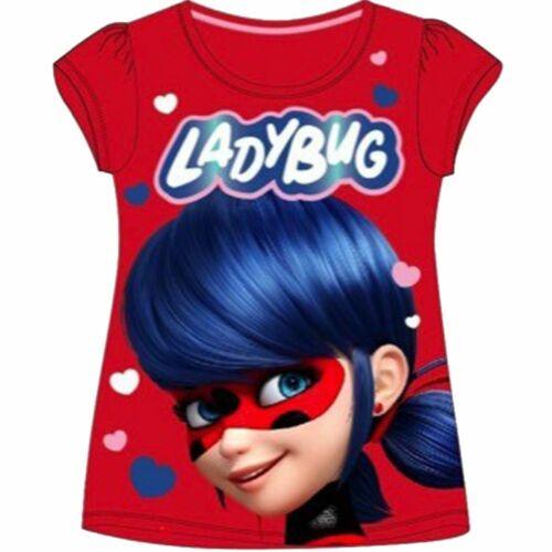 T-shirt  Ladybug t shirt Miraculous 4 à 10 ans Coton Miraculous