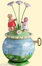 Wendt & Kühn Spieldose Spieluhr Frühlingsreigen 5318/47A Erzgebirge