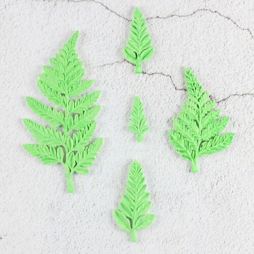 Flower Filler Leaf silicone Decorating Molds Cake Sugarpaste Candy Clay MoulRSZ8