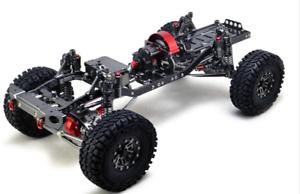 Body Frame Frame Frame W Wheels Set FOR 1 10 Scale RC Crawler PARTS  promociones de descuento