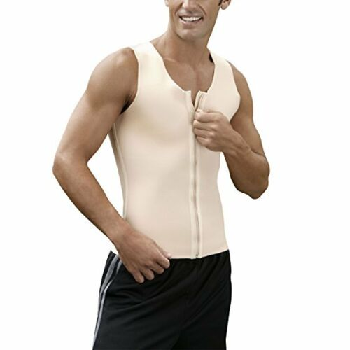 Details about  /KEPAWEL MENS FIRM COMPRESSION VEST CORE-2 SIZE 2XL BEIGE BRAND NEW FREE SHIPPING