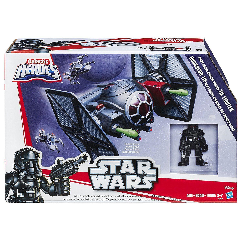 Playskool Star Wars Galactic Heroes Last Jedi First Order Tie FIghter