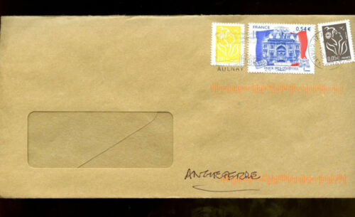 France 2007 Airmail Cover To UK #C1333
