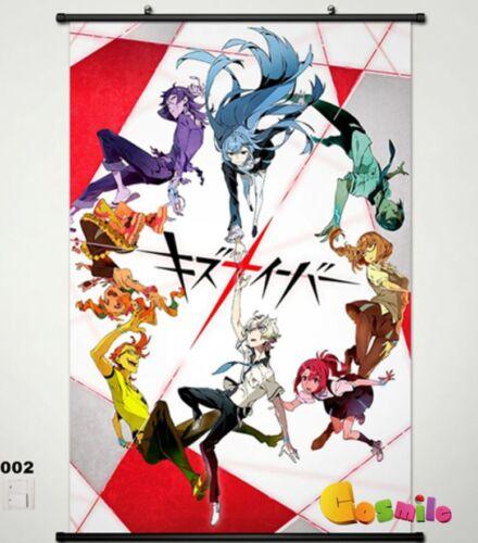 Kiznaiver Home Decor Anime Poster Wall Scroll Cos Gift 002