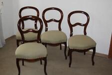 Stuhl, Biedermeier, Louis Philippe, Buche, Nussbaum, 4 Stühle #2261