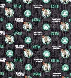 1 4 Yard 9 X42 Boston Celtics Nba Basketball Cotton Quilting Fabric Ebay