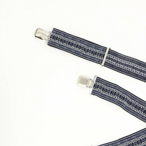 Men Simple Shirt Stay Belt Suspender Clip Tucked Leg Thigh Garter Strap LH