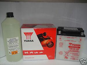 BATTERIE-YUASA-YB14L-A2-LAVERDA-Sport-Formula-650-1995-1996-1997-1998-1999-2000