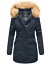 Marikoo-Karmaa-Damen-WinterJacke-Steppjacke-winter-Parka-Mantel-warm-gefuttert miniatuur 6