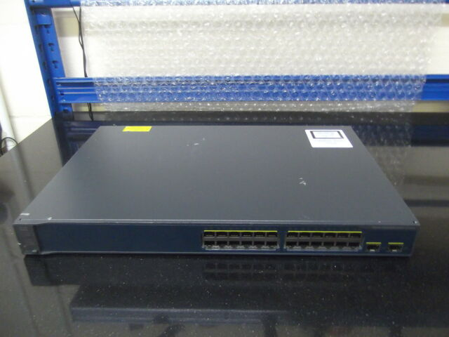 Cisco Catalyseur 3560v2 WS-C3560V2-24TS-S 24 Ports 10/100 Interrupteur Ios 15