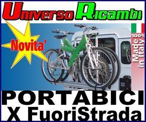 Portabici-posteriore-X-2-BICI-per-fuoristrada-Gringo-Bici-FABBRI