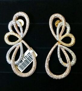 Cubic Zirconia Jewelry Earrings For Today S Modern Woman Ebay Gold Rate