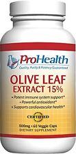 OLIVE Leaf Extract (15% oleuropeina) - 500mg - 60 VERDURE TAPPI-ProHealth