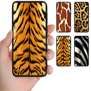 For-OPPO-Series-Animal-Skin-Fur-Theme-Print-Mobile-Phone-Back-Case-Cover
