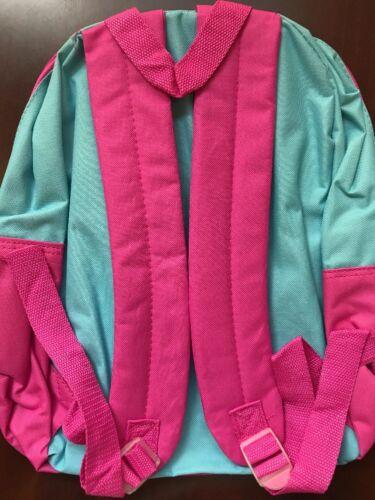 "SALE Backpack 14/"" Disney Princess Cinderella Girl Blue Pink New REDUCED"