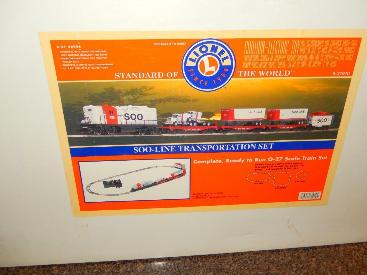 LIONEL -  31930- QVC SOO LINE FREIGHT SET- ONLY 500 BUILT- BOXED  - C1