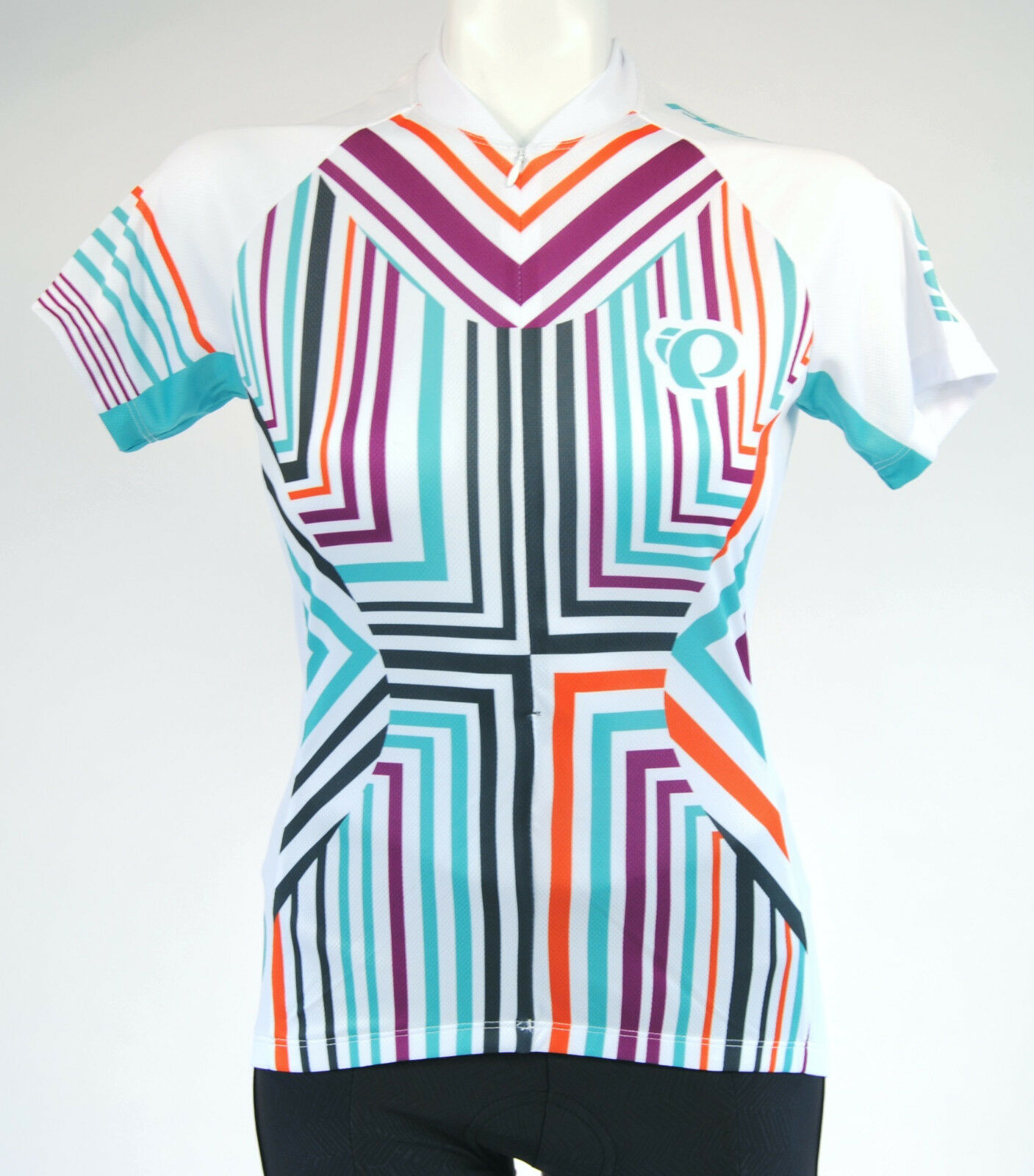 Pearl Izumi W Select LTD SS Cycling Jersey,Women's, Extra Small, Multi color