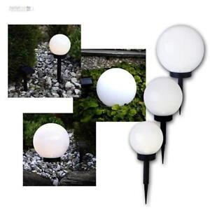 LED Lampe sphérique / BOULE jardin luminaire de solaire | eBay