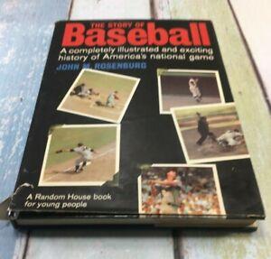 The Story of Baseball, by John M. Rosenburg, 1970 Edition, HB