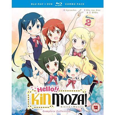 Hello!! Kinmoza! Complete Season 2 (with DVD NTSC - Box set) [Blu-ray]