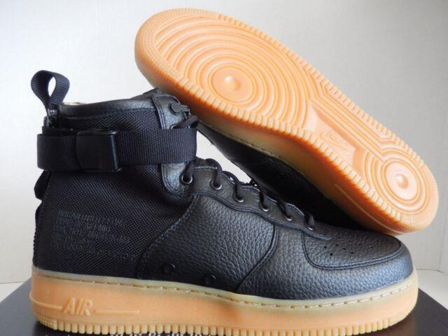 eca310e069e099 Nike SF Af1 Mid Special Field Boot Mens Size 13 Black Gum 917753 003 ...
