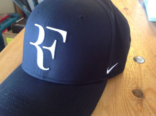 Nike Mens Roger Federer RF Classic 99 Aerobill Tennis Hat Blackflint  Greywhite eBay factory outlets 86cd0 ... 90c0016cac8