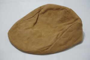 Dobbs Pace Settle Collection Suede Leather Newsboy Hat Sz 7