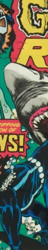 3 FEET GHOST RIDER 1976 Jaws SHARK Motorcycle = POSTER Comic Book 8 SIZES 18/""