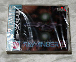 NEC PC ENGINE CD-ROM2 RAYXANBER 3 III BRAND NEW shooter Japan RARE DATA WEST