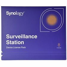 Synology IP Camera 8-License Pack Kit for Surveillance Station - All-Bays NAS