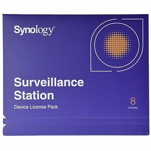 Details about Synology IP Camera 8-License Pack Kit for Surveillance  Station - All-Bays NAS